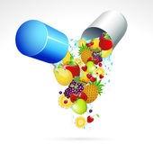 fruits and vege capsule