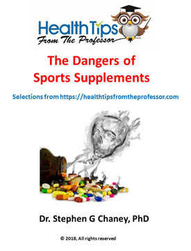 The Dangers of Sports Supplements