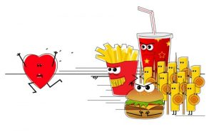 how does fast food affect children's health junk food