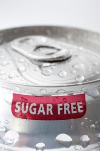 sugar free soda can
