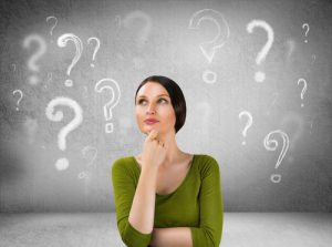 Questioning Woman