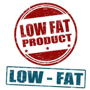 Low Fat Label